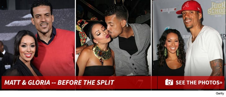 Matt Barnes & Gloria Govan -- Before the Split!