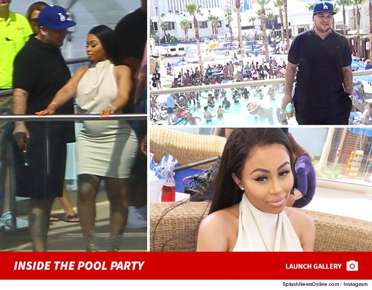 Rob and Blac Chyna - Inside The Pool Party