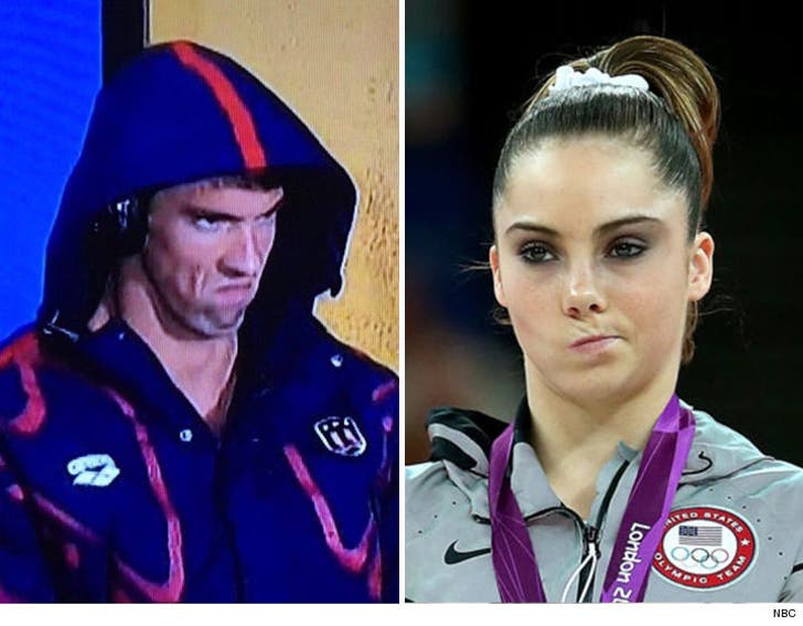 McKayla Maroney Thanks Michael Phelps     You're the NEW