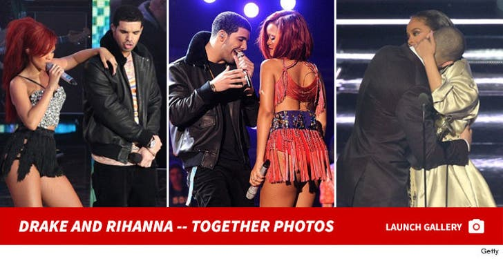 Rihanna and Drake -- Together Photos