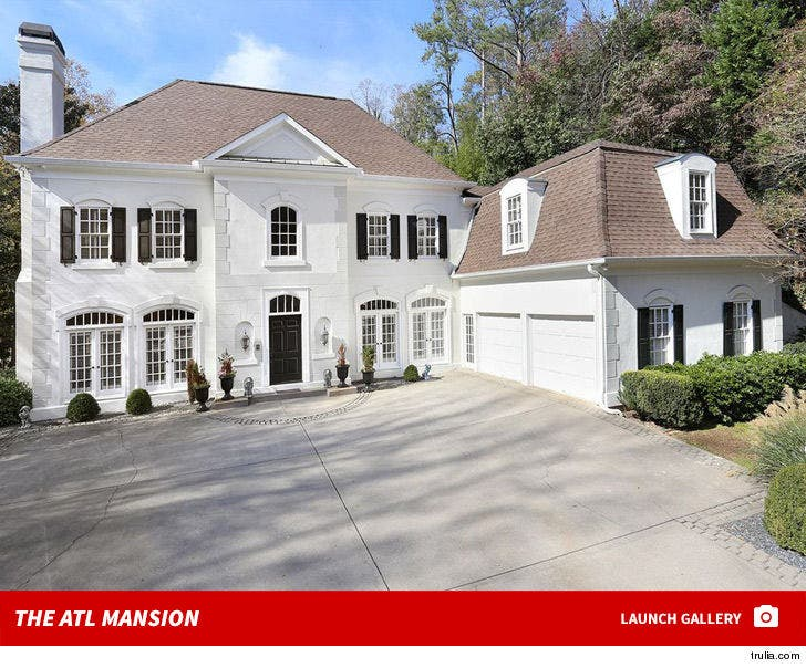 Phaedra Parks' Atlanta House -- For Sale!