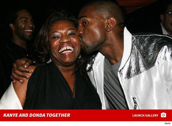 Kanye and Donda West Together