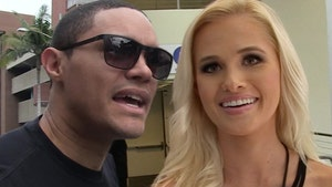 Trevor Noah -- Calm Down, People ... Tomi's Cupcakes Were From My Team, Not Me! (PHOTO)