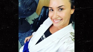 Demi Lovato Gets Badass New Belt In Brazilian Jiu-Jitsu