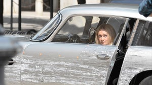 James Bond Stunt Double Puts Aston Martin Through Hell in Chase Scene
