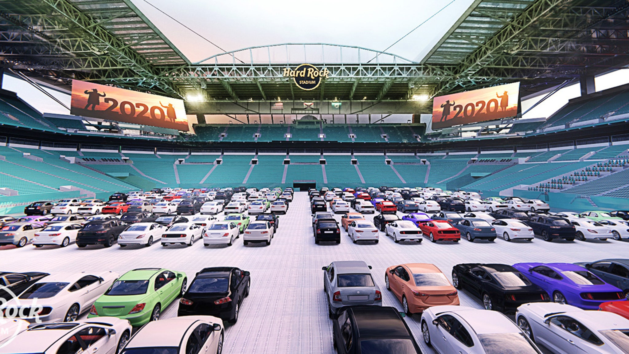 Miami Dolphins Converting Stadium Into Drive-In Theater, Social Distancing!