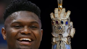 Zion Williamson Cops Thanos Infinity Gauntlet Pendant For 20th Birthday