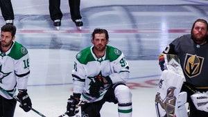 NHL Star Tyler Seguin Kneels For National Anthem, Joins 3 Others