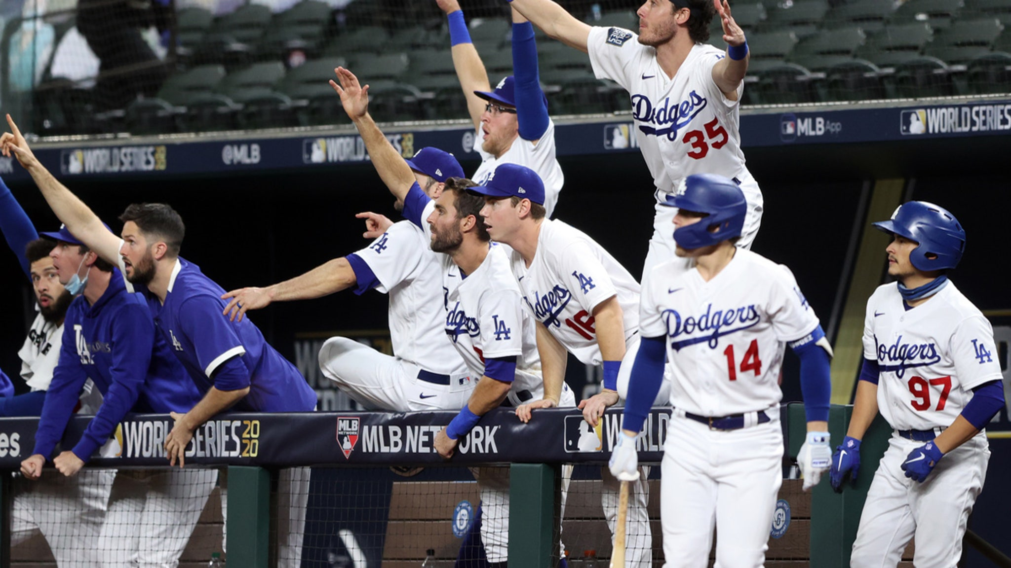 L.A. Dodgers World Series Champs! ... First Title In 32 Years!