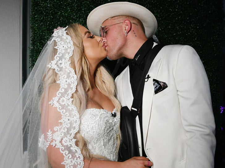 Jake Paul and Tana Mongeau Get Married