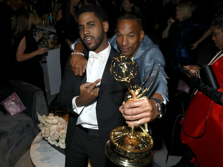 Jharrel Jerome and Korey Wise Party After Emmys Win