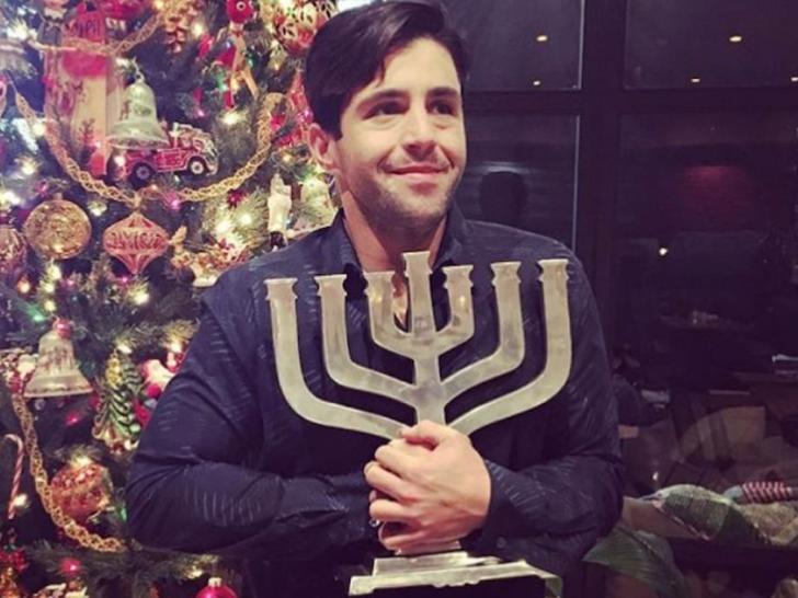 Stars Celebrating Hanukkah -- It's Lit!