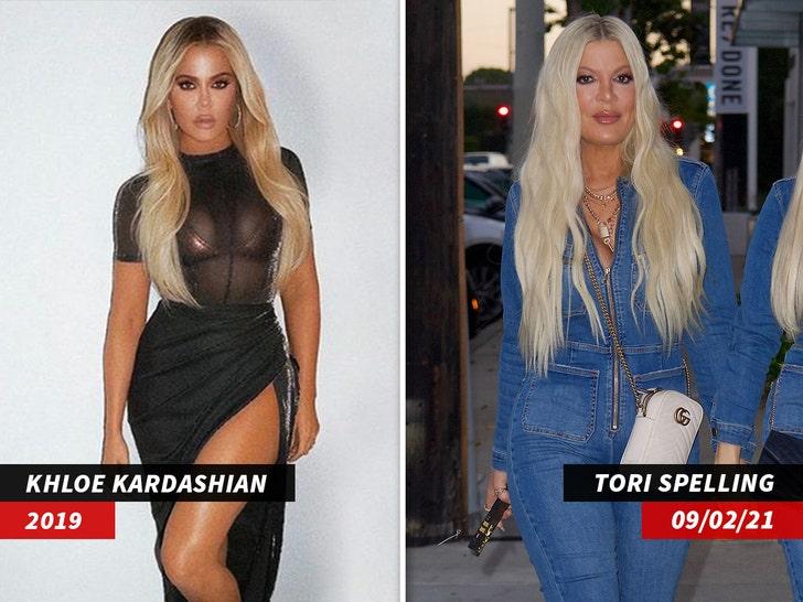 khloe kardashian tori spelling