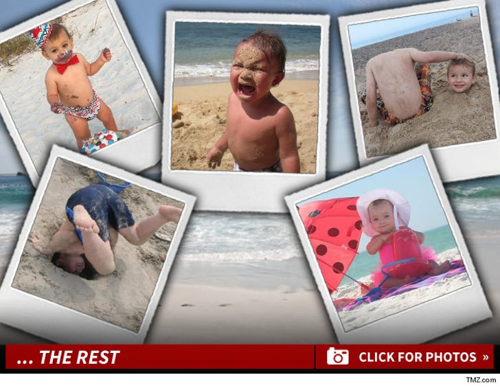 TMZ's Beachin' Baby Photo Contest -- Making Waves!