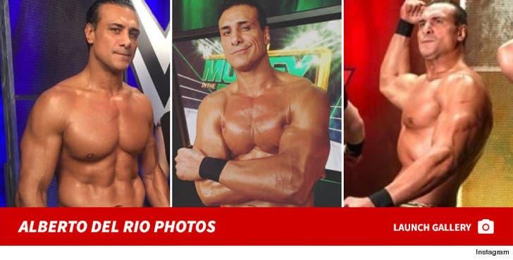 Alberto Del Rio Photos