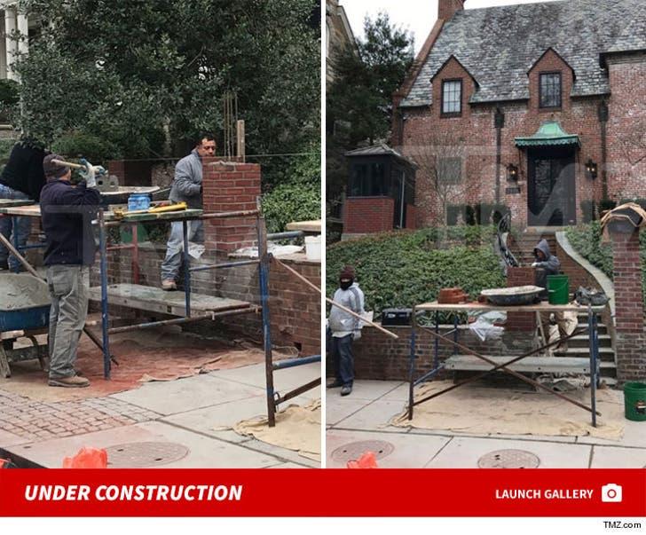 Obama House -- Under Construction