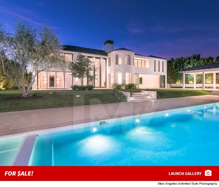 Kim and Kanye's Old Bel-Air Crib -- For $ALE!