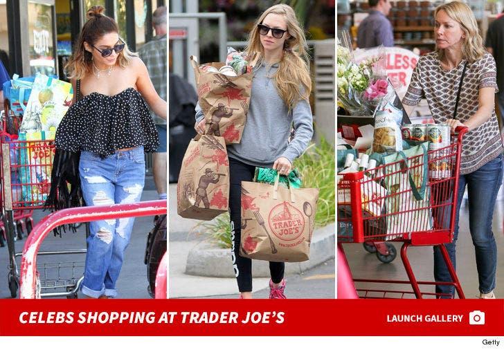 Celebs Shopping At Trader Joe's