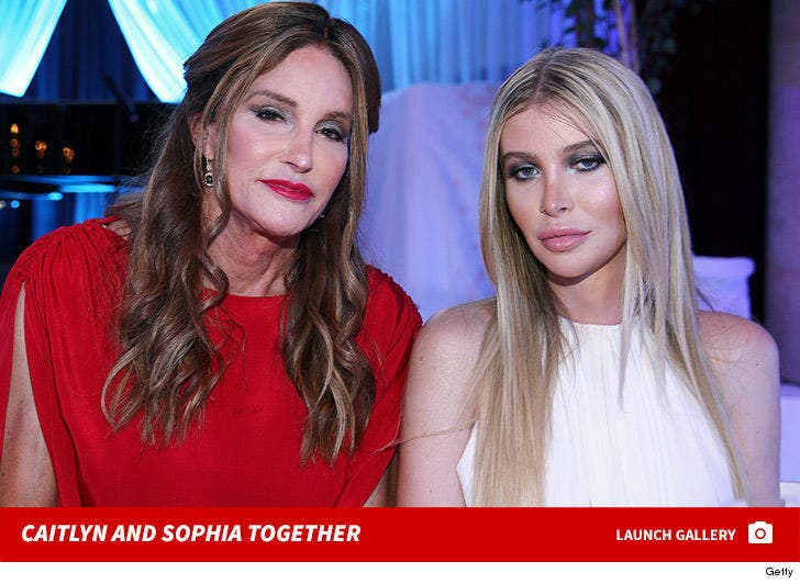 Caitlyn Jenner and Sophia Hutchins Together
