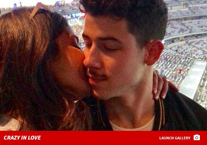 Nick Jonas And Priyanka Chopra -- Crazy In Love