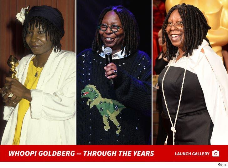 Whoopi Goldberg -- Through The Years