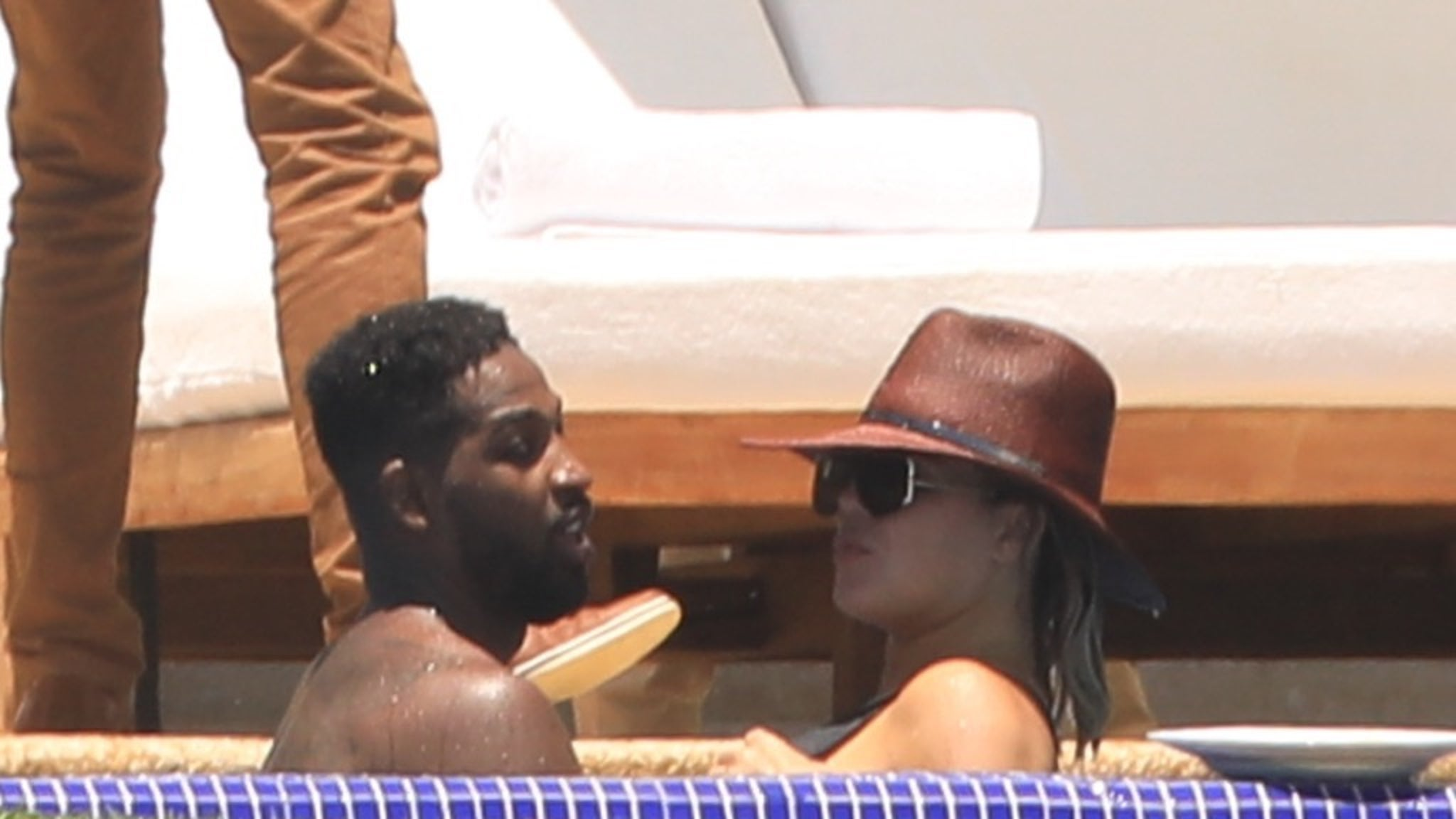 Khloe, Kendall, Tristan and Ben Simmons in Puerto Vallarta