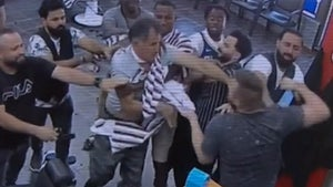 Australian Barbershop Brawl Breaks Out Over Line-Cutting