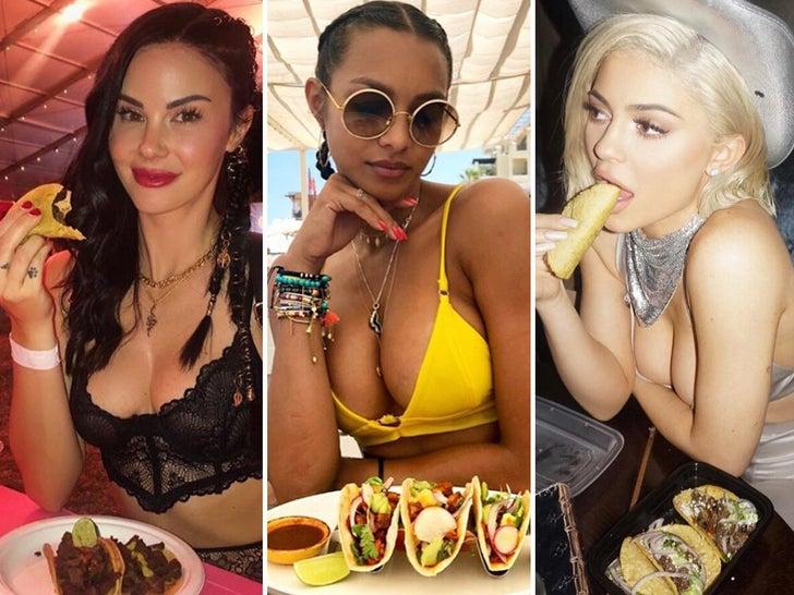Celebrities Eating Tacos