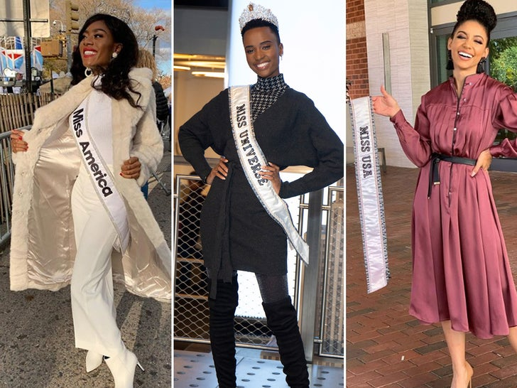 Miss Universe, Miss USA, and Miss America's Winning Shots