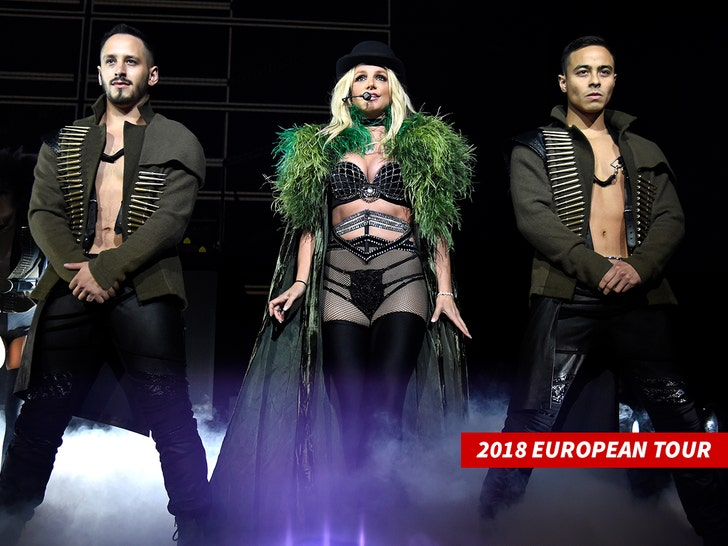 Britney spears 2018 european tour