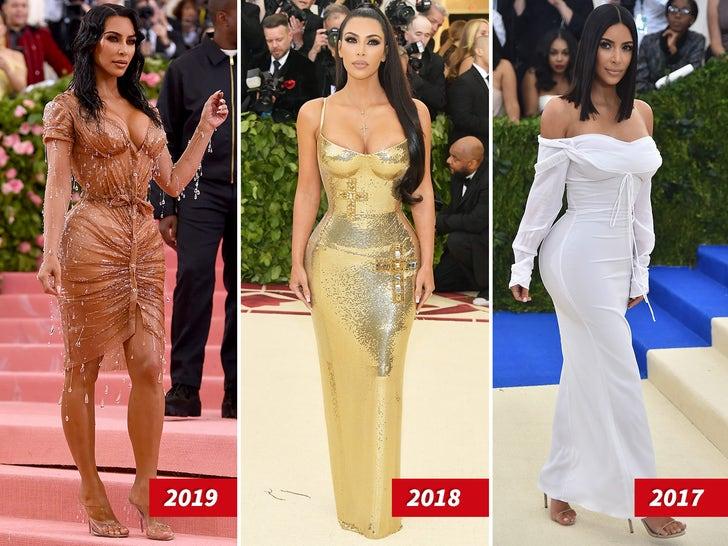 Kim Kardashian's Met Gala Looks