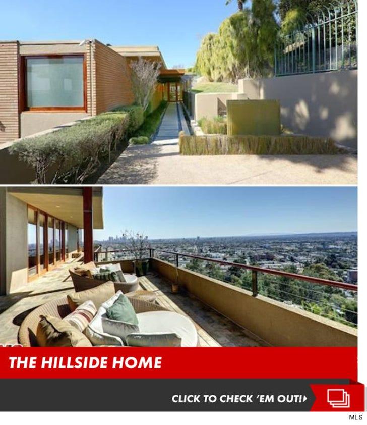 Zac Efron's Hillside Home