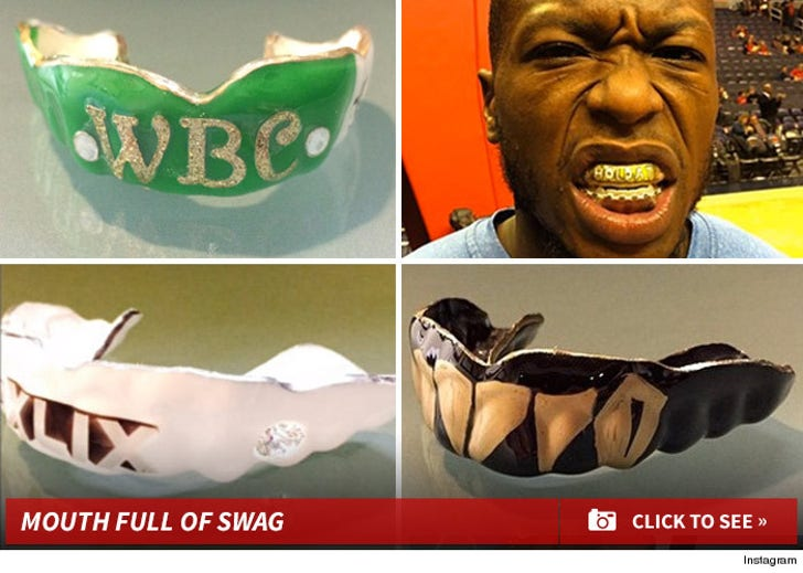 NFL Stars -- DROPPING MAJOR $$$$ ... On Diamond & Gold Mouthpieces