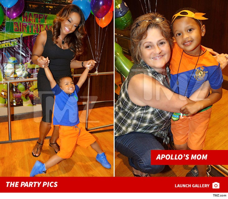 Phaedra Parks -- Son's 6th Bday Bash