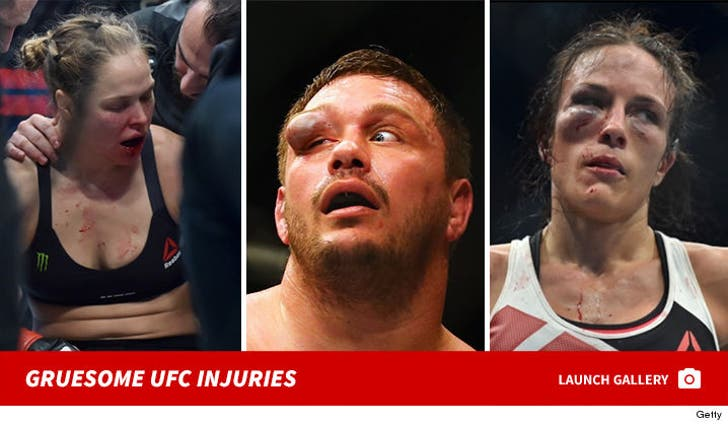 Gruesome UFC Injuries That'll Make You Tapout!