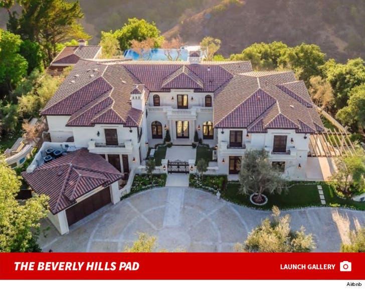 Drake's Beverly Hills Mansion