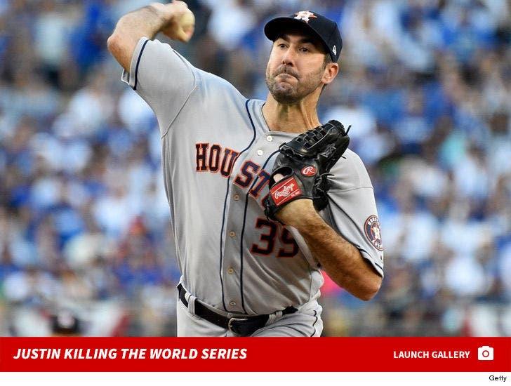Justin Verlander World Series Shots