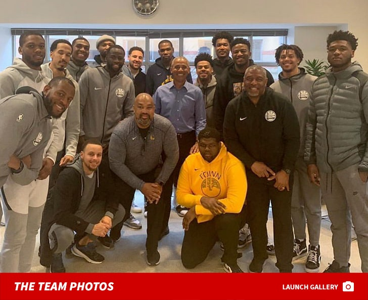 Golden State Warriors Meet With Obama And Nancy Pelosi