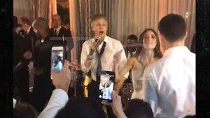 Paul McCartney Performs At Nephew's Wedding