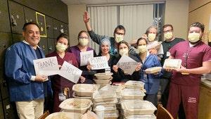 Steven Spielberg Feeds Doctors, Nurses Treating COVID-19 Patients