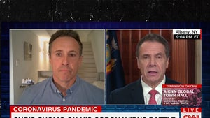 Chris Cuomo Says His Wife Has COVID-19, 'Just Breaks My Heart'