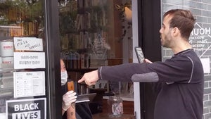 Man Protests NYC Coffee Shop Over Black Lives Matter Sign