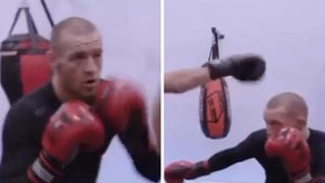 Conor McGregor Back in Training Mode, Gearing Up for Dustin Poirier?
