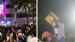 Spring Break Partiers in Miami Beach Go Wild Violating Curfew