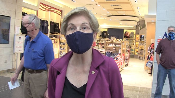 Sen. Elizabeth Warren Rips Jeff Bezos for Space Trip, Claims We're All Paying for it.jpg