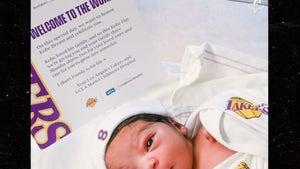 Lakers Gift Newborns With Kobe Bryant Swag To Honor Mamba's Birthday