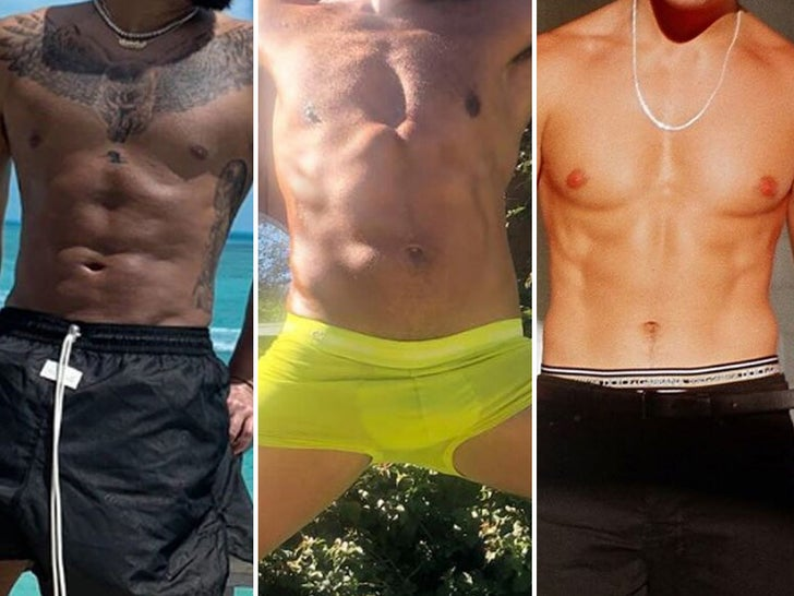 Hot Shirtless Stars -- Guess Who!