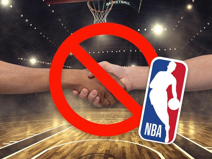 Fist-bumps among short-term recommendations as National Basketball Association plots coronavirus strategy, memo says