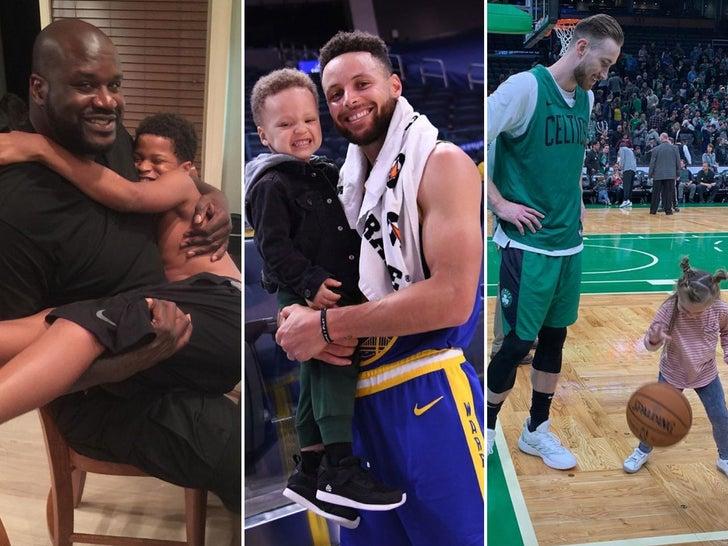 NBA Dads -- Nice Shot!