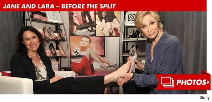Jane Lynch and Lara Embry -- Before the Split!